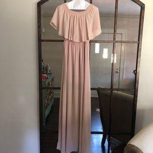 Showmeyourmumu Hacienda Maxi Blush Dress